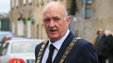 Full support: Cllr Nial Ring said he was 100pc behind efforts to police the lockdown. Photo: Gareth Chaney Collins