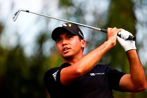 Jason Day of Australia plays his shot from the sixth tee during the First Round of the BMW Championship at Conway Farms Golf Club in Illinois.  (Photo by Jamie Squire/Getty Images)