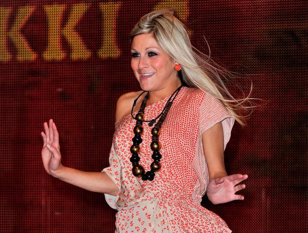 Nikki Grahame enters the final Ultimate Big Brother 2010 House at Elstree Studios on August 24, 2010 in Borehamwood, England.  (Photo by Gareth Cattermole/Getty Images)