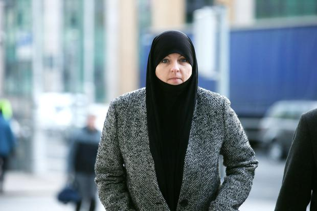 Lisa Smith pictured arriving to the CCJ Dublin this morning Pic Collins Courts