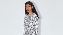 That Zara Dress: If a black-and-white dress can make you look instantly polished, then it follows that the same applies to your decor, right? PIC - Zara
