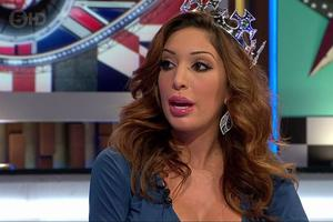 Farrah Abraham on Celebrity Big Brother's Bit on the Side. Picture: Channel 5