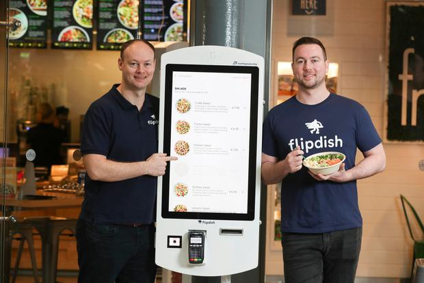 Conor McCarthy and James McCarthy of Flipdish