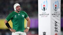 Rory Best captained Ireland for four years between 2016 and 2019. Photo by Ramsey Cardy/Sportsfile