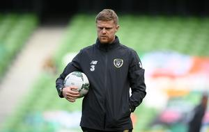 Damien Duff has left his role as coach in Stephen Kenny's Ireland set-up. Photo by Stephen McCarthy/Sportsfile