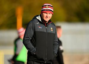 Mayo manager James Horan during the Allianz Football League Division 1 Round 4 defeat to Monaghan at St Tiernach's Park in Clones, Monaghan. Photo: Ben McShane/Sportsfile