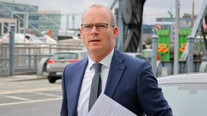 Careful what you wish for: Simon Coveney had been tipped to take on a role with the EU Commission. PHOTO: Frank McGrath