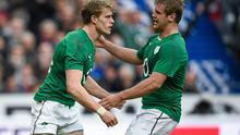 Andrew Trimble and Chris Henry will  return to Ulster's starting line-up against Saracens next week