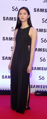 Li Ann Smal at the exclusive launch party  for the Samsung Galaxy S6 at The Marker Hotel, Grand Canal Square , Dublin Pic:Brian McEvoy