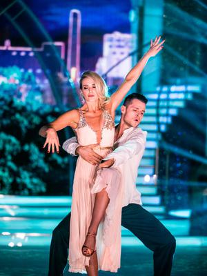 Aoibhín Garrihy and Vitali Kozmin on Dancing with the Stars Picture: Kyran O'Brien