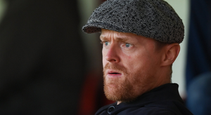 Damien Duff has previously ruled out management in Ireland, but he has changed his mind before. He once said 'not one per cent of him had an urge to go and work with the FAI' before years later joining Stephen Kenny's Ireland backroom team. Photo: Stephen McCarthy/Sportsfile