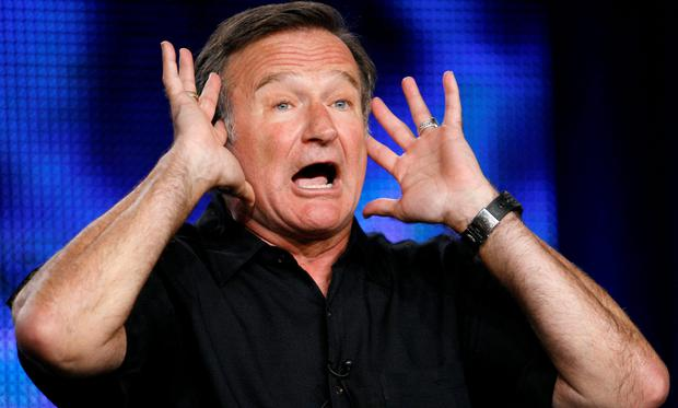 TALENTED, FUNNY MAN: In the case of Robin Williams, who ostensibly had so much to live for, it's very hard to comprehend suicide. But mental health difficulties don't respect fame or fortune — in fact, those two things bring their own pressures