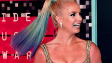 Recording artist Britney Spears arrives on the red carpet at the MTV Video Music Awards