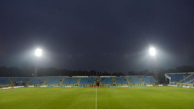 The Olimp-2 stadium pitch has been deemed unplayable by the Russian FA