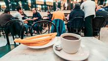 'Best friend': coffee and churros