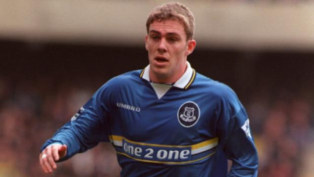 Richard Dunne made his Everton debut as a teenager
