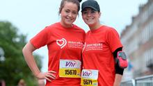 Sorcha Parker (left) from Rathdrum and Ashley Woodbyrne
