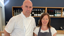 Clive Wallace and Barbara Berman: Berman and Wallace Caterers, Clonskeagh, Dublin
