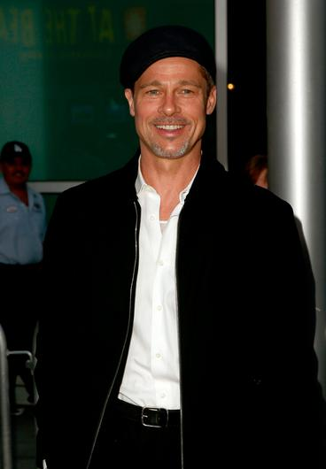 """Brad Pitt attends the premiere of Amazon Studios' """"The Lost City Of Z"""" at ArcLight Hollywood on April 5, 2017 in Hollywood, California.  (Photo by Rich Fury/Getty Images)"""