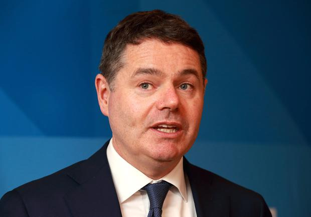 Charges: Paschal Donohoe wants to cut official air travel. Photo: Frank McGrath