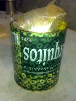 €4.5m stuffed into more than 1,000 tins of olives