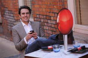 Ollie Fegan secured a €100,000 investment on 'Dragons' Den' from investor Sean O'Sullivan for his restaurant marketing app