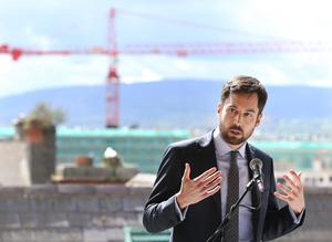 Plan: Eoghan Murphy aims to speed up home building. Photo: Photocall