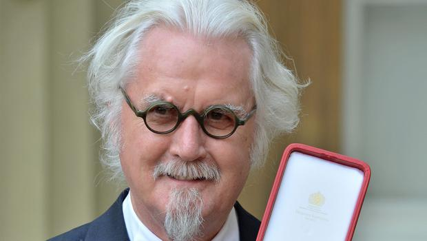 Sir Billy Connolly was speaking in the second part of his BBC documentary series Made In Scotland (John Stillwell/PA)