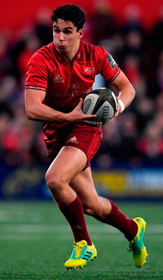 Joey Carbery has proved himself pretty versatile, an adaptability well beyond being able to play nine, 10 or 15 on a rugby field. Photo: Brendan Moran/Sportsfile