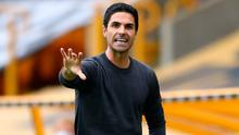 Arsenal manager Mikel Arteta. Photo: Getty Images
