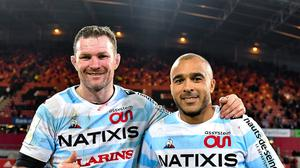 Donnacha Ryan, left, and Simon Zebo are set to play in the Champions Cup final against Exeter Chiefs. Photo by Brendan Moran/Sportsfile
