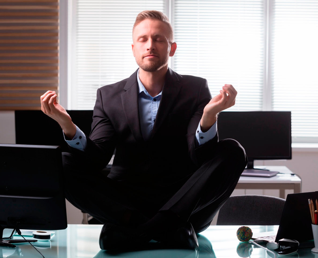 Mindfulness meditation can help combat stress in the workplace