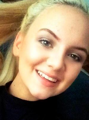 Jodie Lee Daniels (15) who died in the tragedy