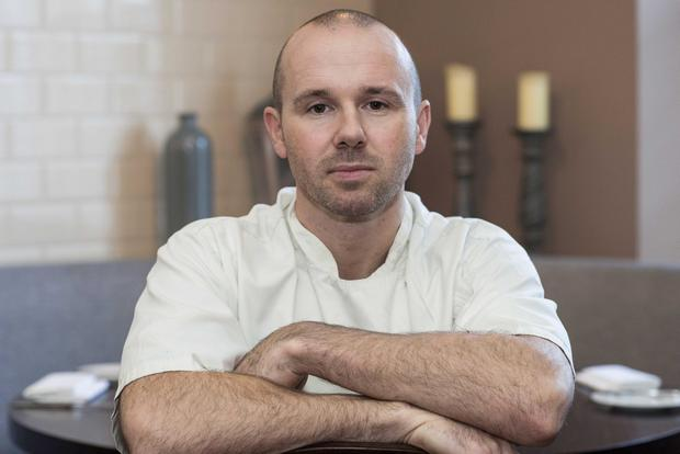 Success: Top chef Oliver Dunne was awarded a Michelin star for his restaurant Bon Appetit in Malahide.