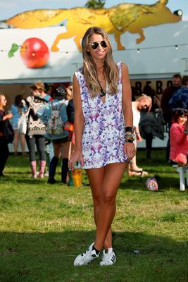 Pictured is Vogue Williams