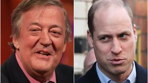 The Duke of Cambridge and Stephen Fry have appeared in a Blackadder sketch for the BBC's The Big Night In fundraising show (Brian Lawless/Isabel Infantes/PA)