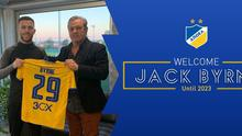 Jack Byrne has signed with Apoel until 2023.