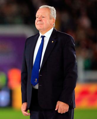 World Rugby chairman Bill Beaumont has conceded it is possible that no international rugby will take place in 2020 due to restrictions on travel and public gatherings. Photo: David Davies/PA Wire.