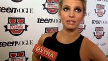 Jessica Simpson gave a rambling red carpet interview