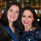 Recognised: Andrea Corr and Jane Casey were both honoured at the An Post Irish Book Awards at Dublin's Convention Centre. Photo: Mark Condren