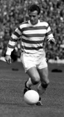 Icon: Stevie Chalmers in action for Celtic in the '60s