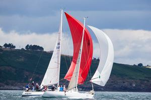 'The longevity of the Royal Cork Yacht Club through three centuries of troubled times returns continually to one essential certainty - a love of sailing and the sea.' Photo: David Branigan/Oceansport