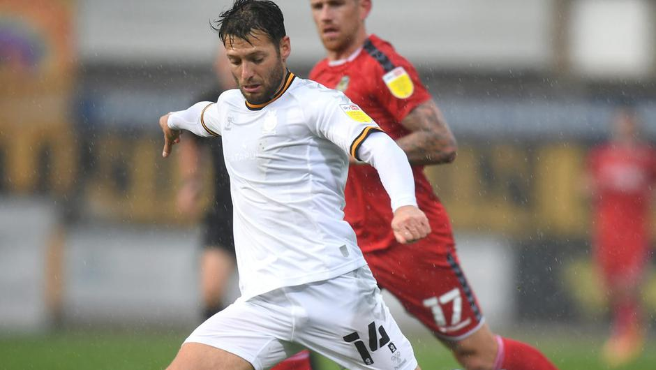 Wes Hoolahan in action for Cambridge United