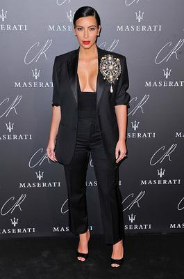 Kim Kardashian attends the CR Fashion Book Issue No.5 Launch Party Hosted by Carine Roitfeld and Stephen Gan at The Peninsula Paris
