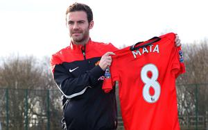Juan Mata (2014) At the time, a club record £37.1m signing from Chelsea, Mata arrived at United in a helicopter, but his career at Old Trafford is still waiting to take off after 12 months. Impressive return of 11 goals in 35 appearances to date, but the Spaniard has struggled to make an impact against top quality opposition.
