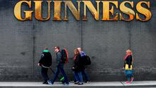 Guinness brewers Diageo raised fears with the Government that a post-Brexit hard Border would present a 'particularly difficult challenge' to them. Photo: Niall Carson/PA Wire