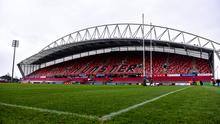 Munster have seen two of their PRO14 games against Benetton postponed. Photo by Diarmuid Greene/Sportsfile