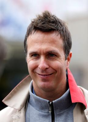 Michael Vaughan attends the RHS Chelsea Flower Show, London.