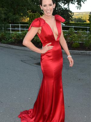 Aoibheann at the  Rehab Person of The Year Awards 2013