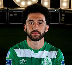 Roberto Lopes of Shamrock Rovers. Photo: Stephen McCarthy/Sportsfile